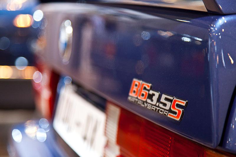 BMW Alpina B6 3.5 S (E30), Typbezeichnung am Heck