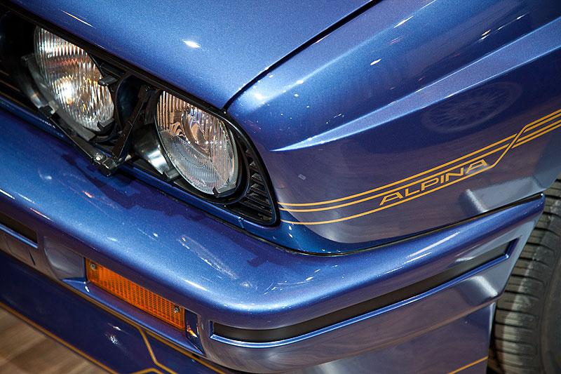 BMW Alpina B6 3.5 S (E30), Scheinwerfer