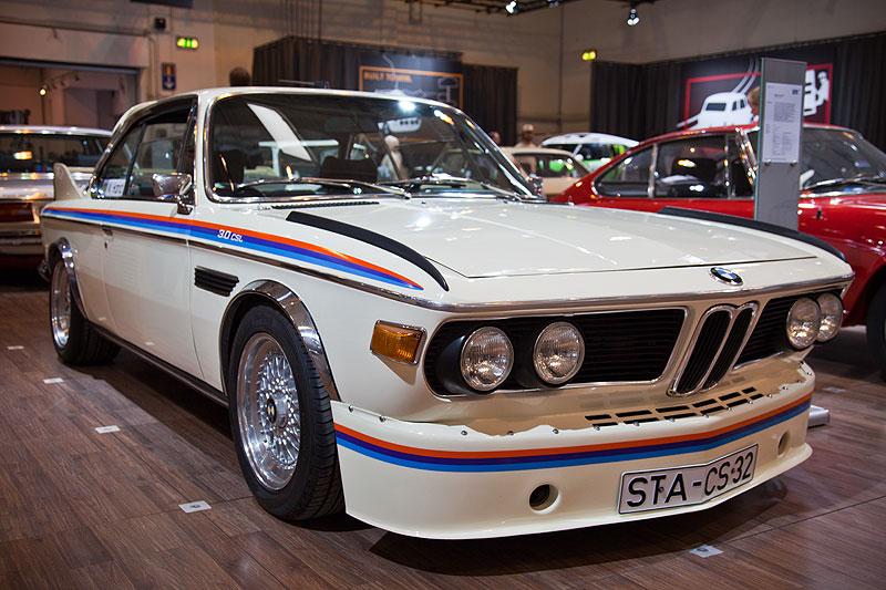 BMW 3.0 CSL (E9), ausgestellt vom BMW Coupé Club e.V., Besitzer: Werner Hand, Techno Classica 2013.