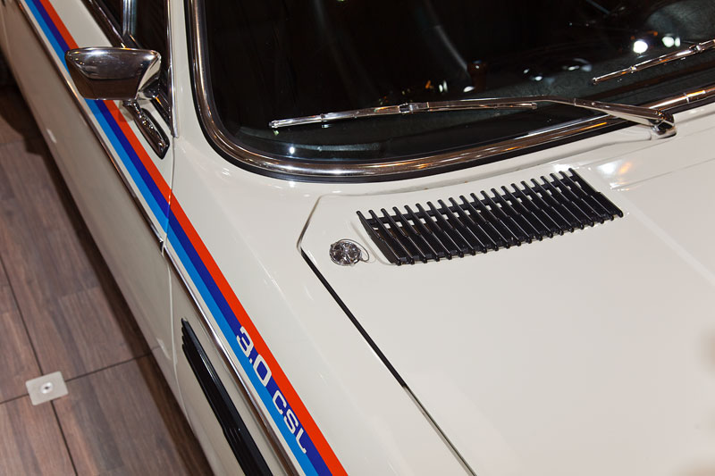 BMW 3.0 CSL (E9), Motorhaube