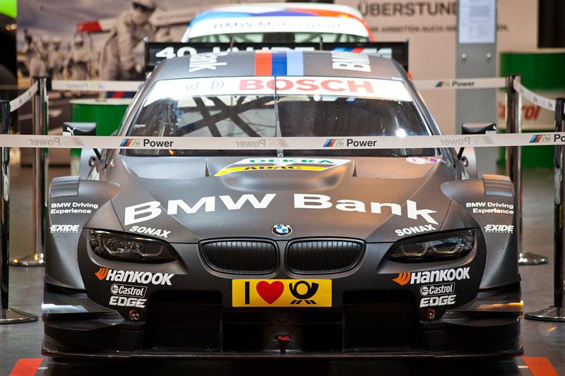 BMW Bank M3 DTM von Bruno Spengler auf der Techno Classica