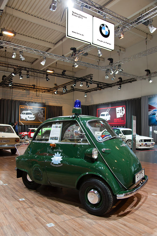 BMW Isetta 300 Export Polizeiausführung, wurde 1959 auf den Regierungspräsidenten in Hannover zugelassen