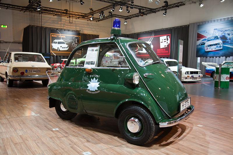 BMW Isetta 300 Export Polizeiausführung, ausgestellt von BMW Classic, Besitzer: Hans-Jürgen Noiber, Techno Classica 2013