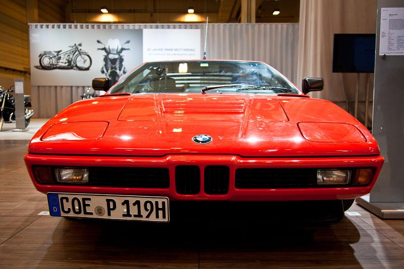 BMW M1 (E26), ausgestellt vom BMW M1 Club e.V., Besitzer: Hans-Jürgen Preun, Techno Classica 2013