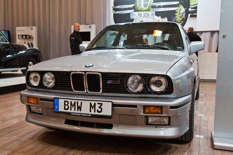 BMW M3 (E30), ausgestellt von BMW Classic, Techno Classica 2013