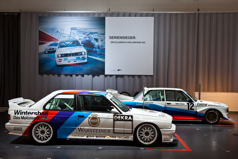 BMW M3 Gruppe A DTM 2.5 auf dem BMW Group Messestand, Techno Classica 2013