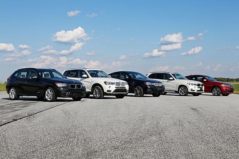 15 Jahre BMW X-Modelle