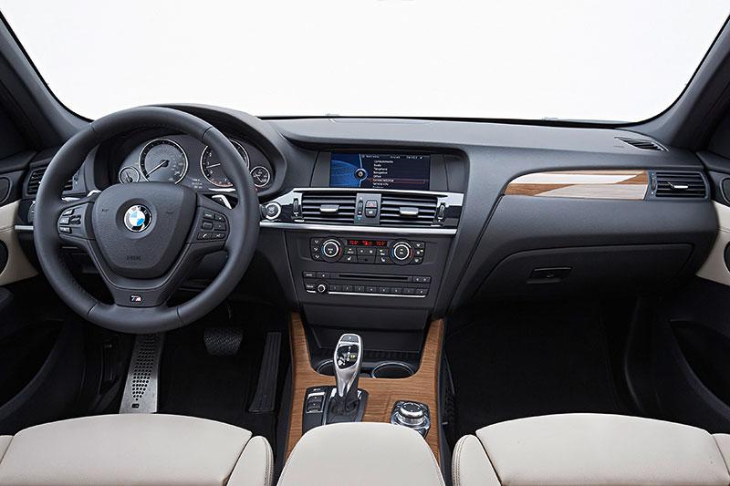 BMW X3, 2. Generation, Modell F25, Interieur