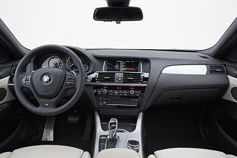 BMW X4, 1. Generation, Modell F26, Interieur