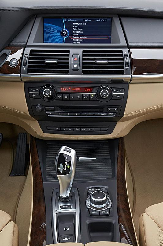 BMW X5, 2. Generation, Modell E70, Interieur, Mittelkonsole