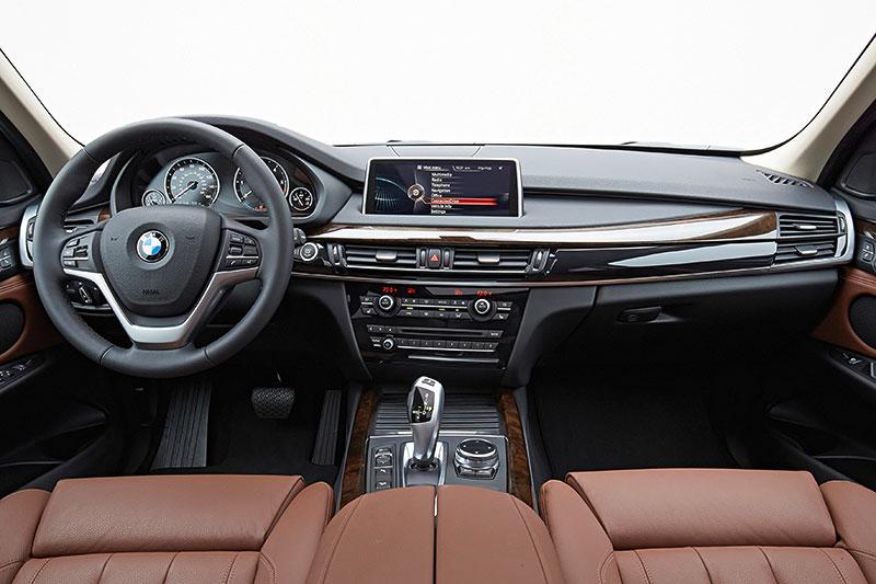 BMW X5, 3. Generation, Modell F15, Interieur