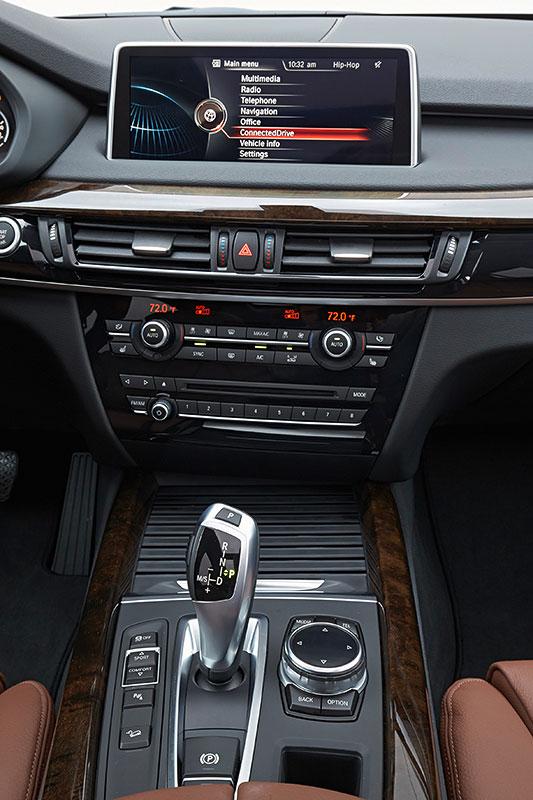 BMW X5, 3. Generation, Modell F15, Interieur, Mittelkonsole