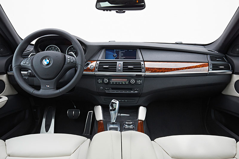 BMW X6, 1. Generation, Modell E71, Interieur
