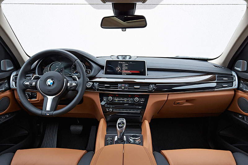 Foto bmw x6 2 generation modell f16 interieur for Interieur x6