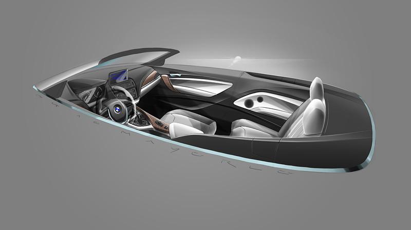 BMW 2er Cabrio, Designskizze