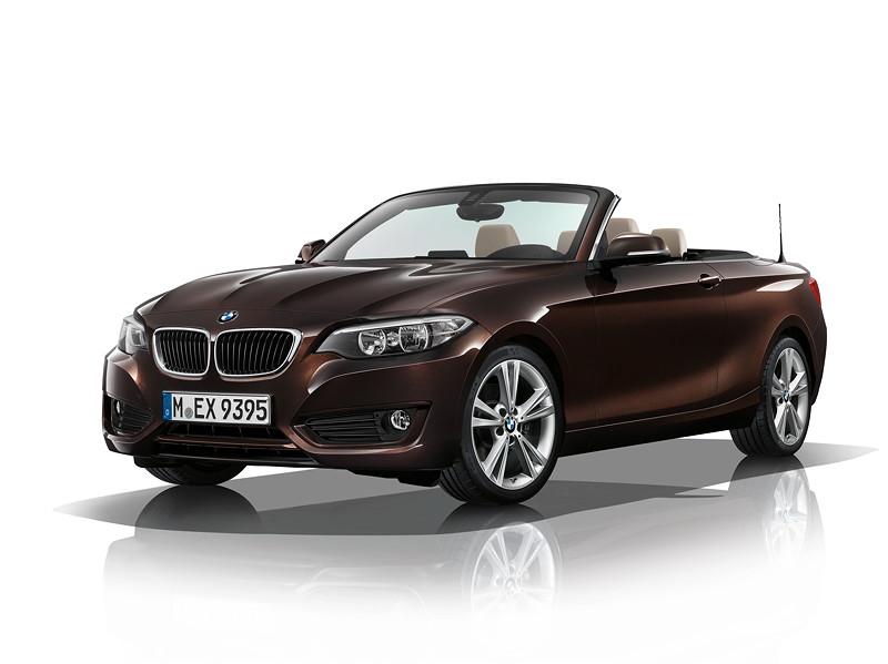 BMW 2er Cabrio, Model Advantage, Sparkling Braun metallic