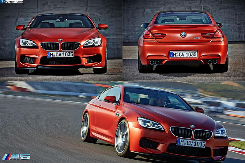 BMW M6 Coupé, Facelift 2015