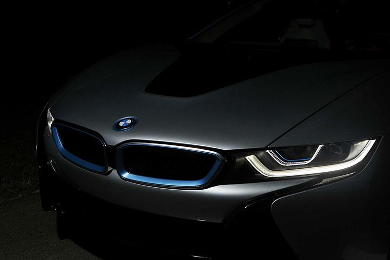 BMW i8, Laserlicht