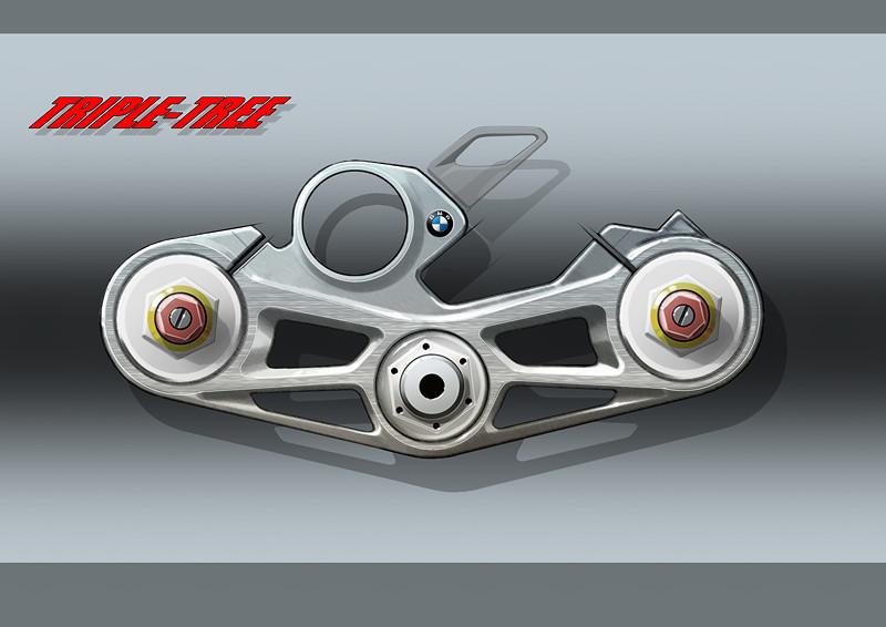 BMW S 1000 RR, Designskizze