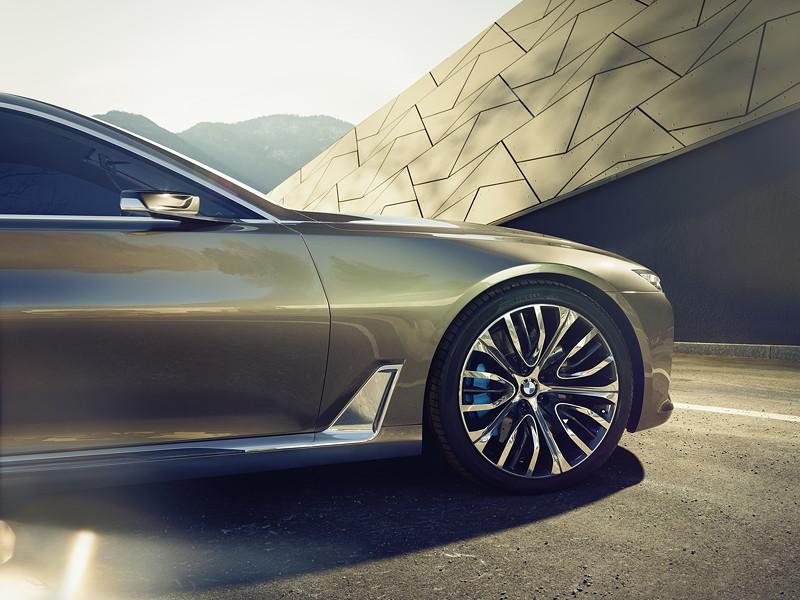 BMW Vision Future Luxury. Exterieur.