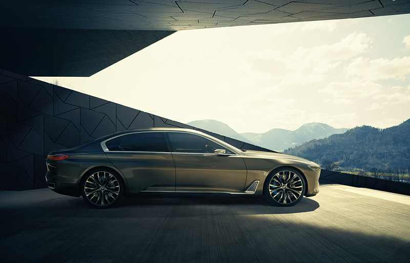 BMW Vision Future Luxury. Exterieur.