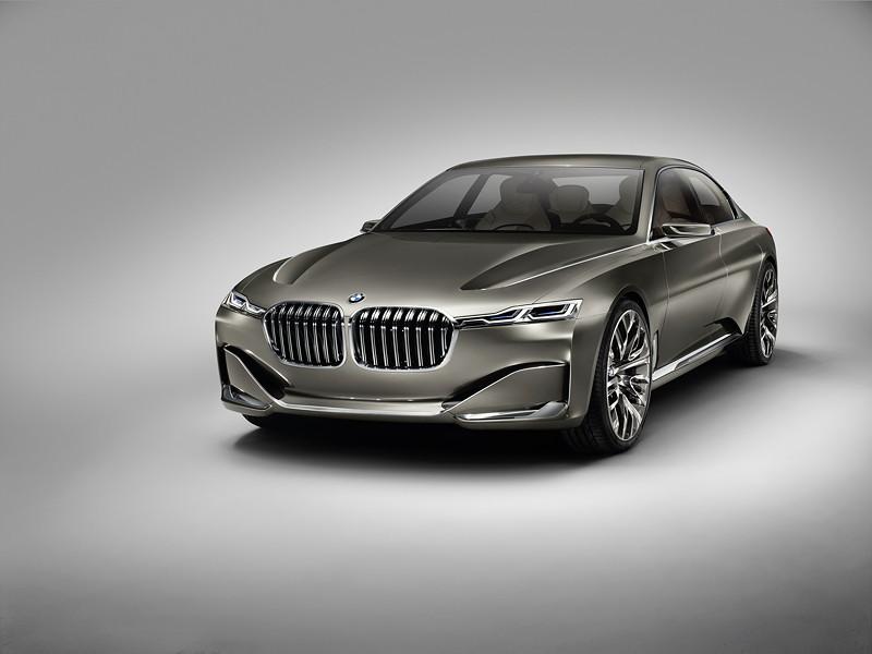 BMW Vision Future Luxury. Freisteller.