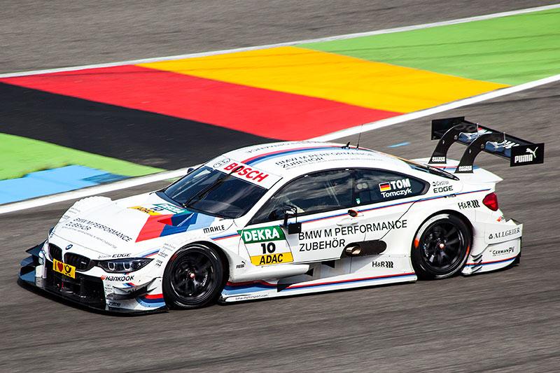 Martin Tomczyk in seinem BMW M4 DTM, Team Schnitzer, DTM-Rennen am Hockenheimring 2014