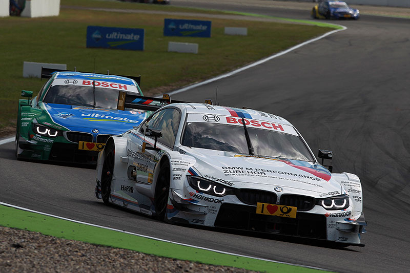 Martin Tomczyk, BMW M Performance Parts M4 DTMuand Augusto Farfus (BR), Castrol EDGE BMW M4 DTM