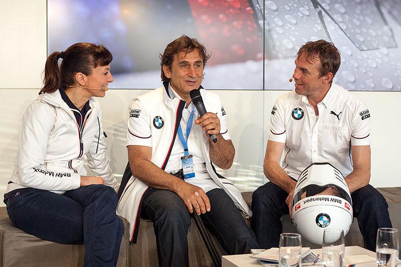 Alessandro Zanardi zu Gast in der BMW Guest Hospitality