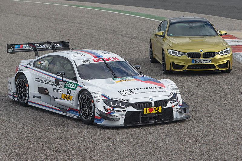 BMW M Performance Zubehör M4 DTM und das BMW M4 Coupé