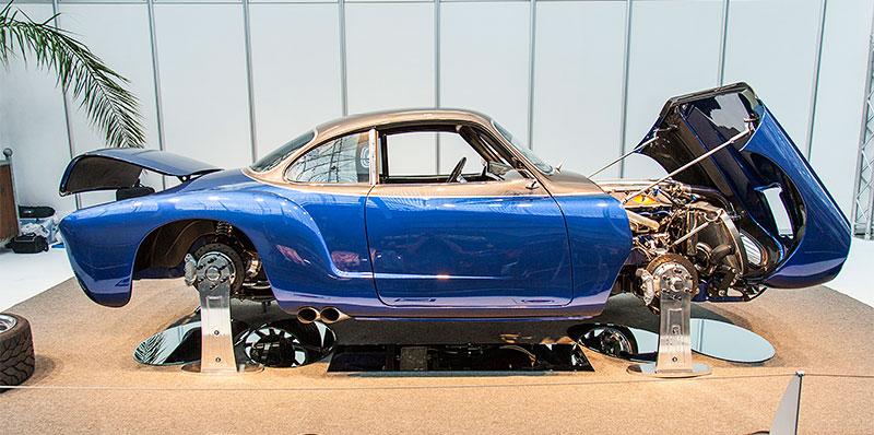 Blue Mamba, auf Basis VW Kahrmann Ghia aus dem Jahr 1967, mit 8,4 Liter V10-Motor aus einer Chrysler Viper, 650 PS, Besitzer: Keith Goggin