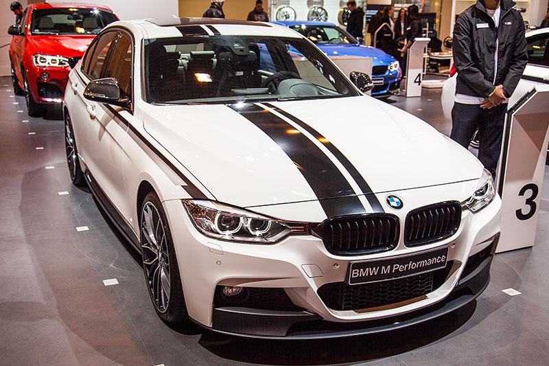 BMW 320d (F30) mit BMW M Performance Komponenten auf der Essen Motor Show 2014