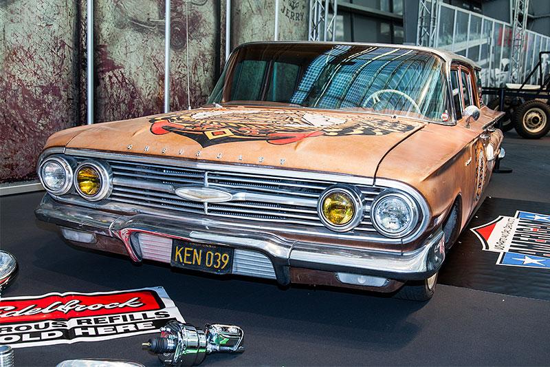 Chevrolet in der Galeria, Essen Motor Show 2014