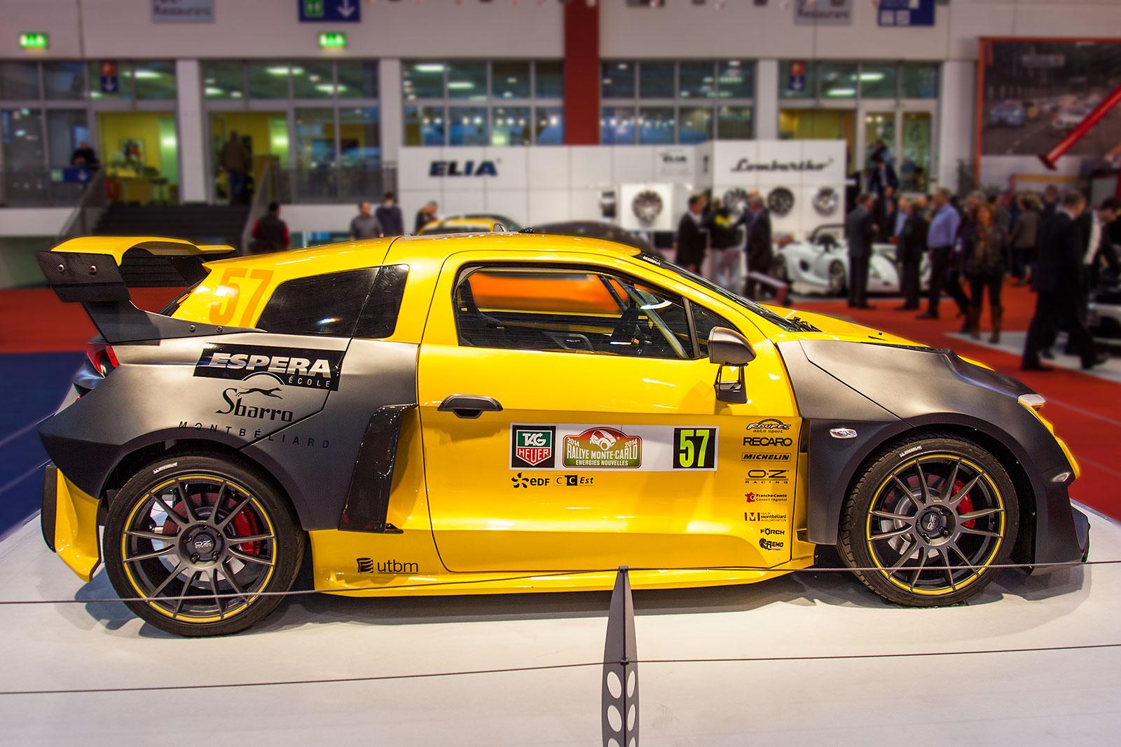 foto sbarro espera ibride sparta hybrid rallye auto essen motor show 2014 vergr ert. Black Bedroom Furniture Sets. Home Design Ideas