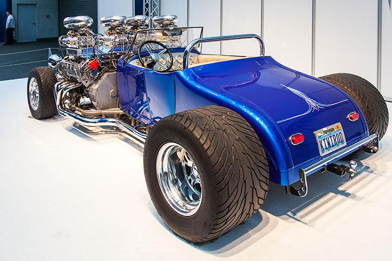 Double Trouble, von Gordon Tronson aus Las Vegas, Vorbild Ford T-Modell (gebaut von 1908-27)