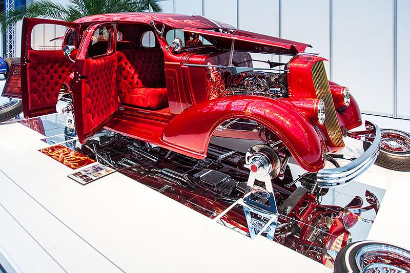 El Padrote in der Galeria, Essen Motor Show 2014, Basis: Chevrolet Master Deluxe aus dem Jahr 1936