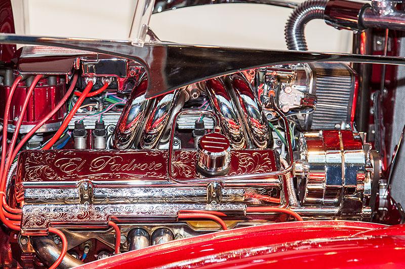 El Padrote mit 5,7 Liter V8-Motor von General Motors, 290 PS