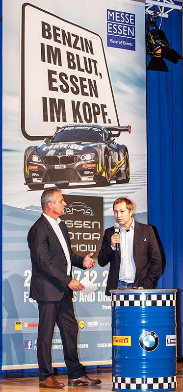 Eröffnungs-Pressekonferenz mit Heinz-Harald Frentzen