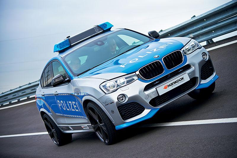 Polizei BMW X4 by AC Schnitzer