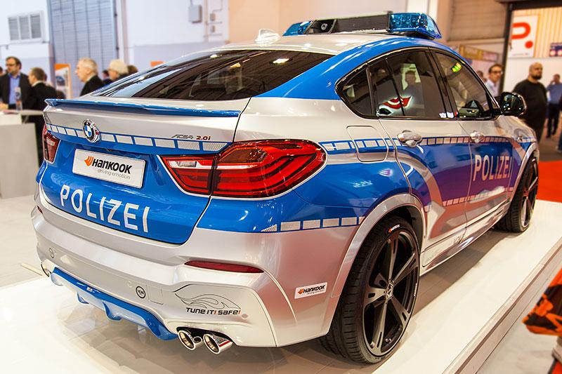 Polizei BMW X4 by AC Schnitzer auf der Essen Motor Show 2014