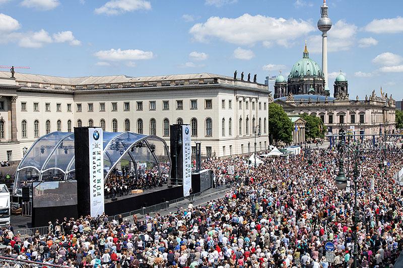 42.000 Besucher bei 'Staatsoper fuwr alle' 2014