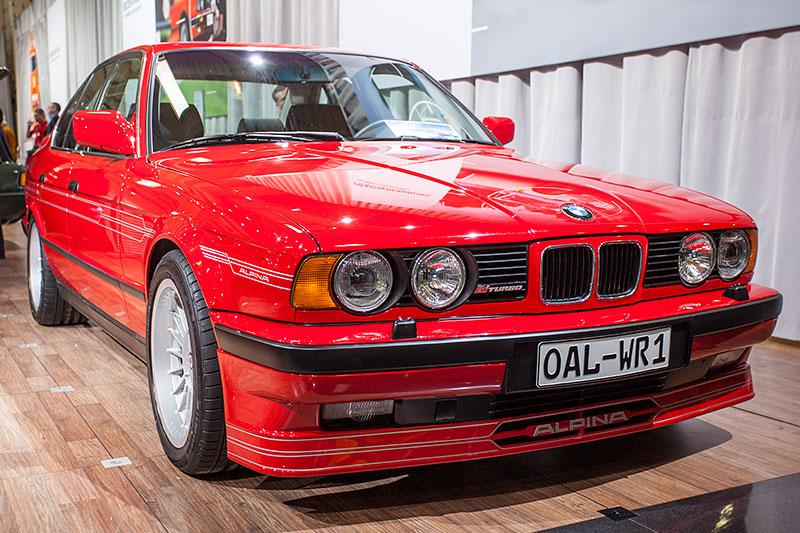 BMW Alpina B10 Bi-Turbo (auf Basis BMW 5er, Modell E34), Nr. 003. Einst auf dem Genfer Salon neu vorgestellt.