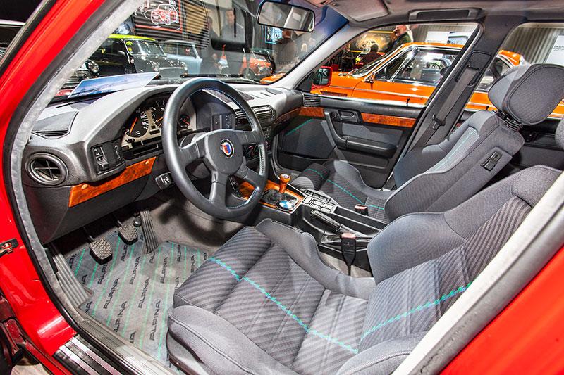 Alpina B10 Bi-Turbo, Innenraum