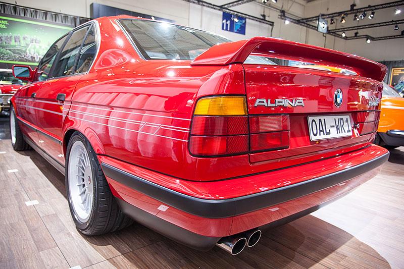 Alpina B10 Bi-Turbo, Baujahr 1989, einst schnellste Serienlimousine der Welt