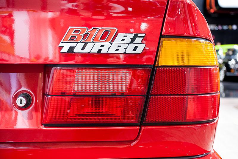 Alpina B10 Bi-Turbo, Typ-Bezeichnung auf der Heckklappe