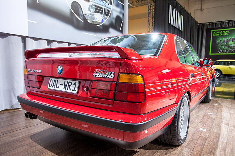 Alpina B10 Bi-Turbo, Techno Classica 2014