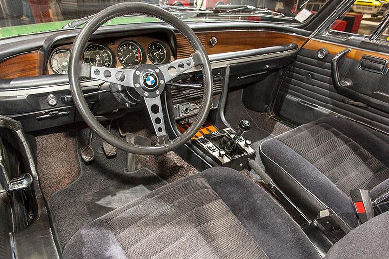 BMW 2.5 CS, Innenraum
