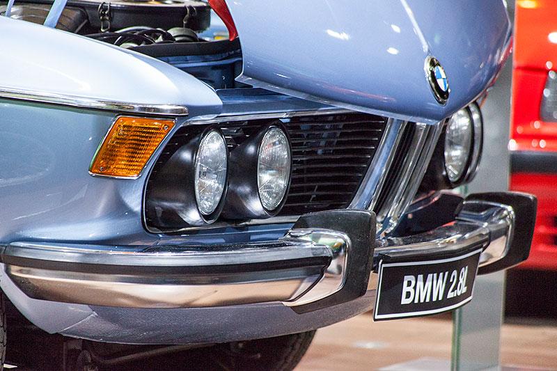 BMW 2.8 L, ausgestellt vom BMW E3 Limousinen Club