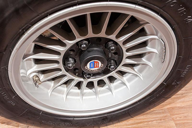 BMW 3.0 CSL auf Alpina Rädern