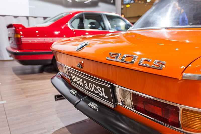 BMW 3.0 CSL, Typ-Bezeichnung auf der Heckklappe